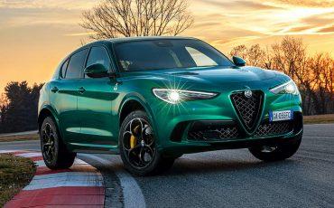 Belissimo! Alfa Romeo Stelvio bags design award